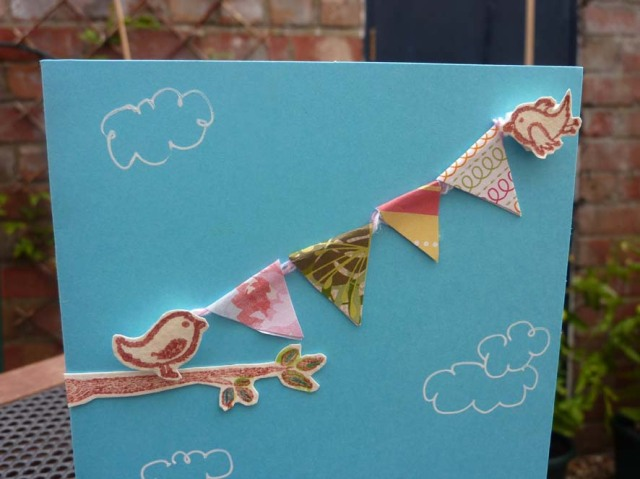 Trend-Alert Tuesday card bunting1